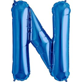 Foil Balloon - Blue N - 34""