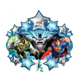 "Foil Balloon - Justice League - 32""x35"""