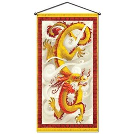 Chinese New Year - Dragon Door/Wall Panel