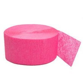 Paper Crepe Streamer-Bright Pink