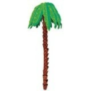 3D Hanging Palm Tree Decoration 8ft.