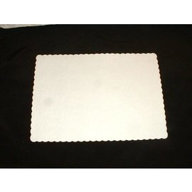 "Paper Ivory Placemat 10""x14"" 50PK"