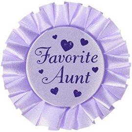Button - Favourite Aunt