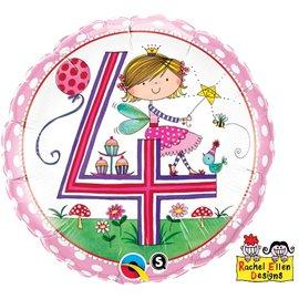 "Foil Balloon - 4th Fairy 18"""