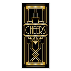 Door Cover-Great 20's Cheers-30inx6ft