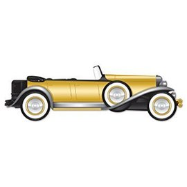 Jointed Cutout Great 20's Roadster