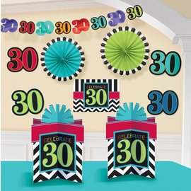 Decorating Kit - Celebrate 30-10pk