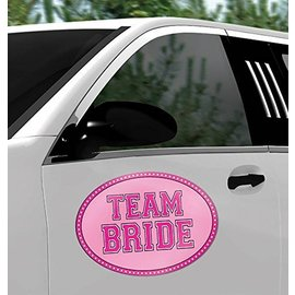 Car Magnet-Team Bride-12''