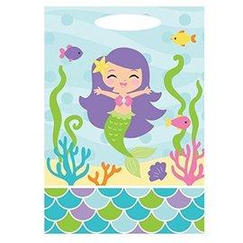 Loot Bags-Mermaid Friends-6.5''x9''-12pk