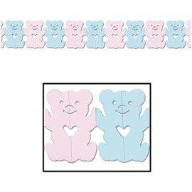 Garland-Tissue-Teddy Bears-1pkg-12ft