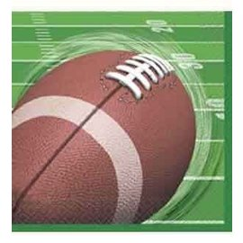 Napkins-LN-Football Spiral-16pk-2ply