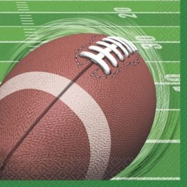 Napkins-Bev-Football Spiral-16pk-2ply