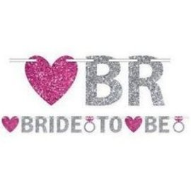 Banner-Bride to Be-Glitter-12ft