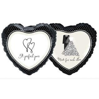 """Foil Balloon - A Perfect Pair, Made for Each Other - 18"""""""