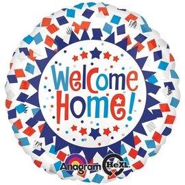 """Foil Balloon - Welcome Home Confetti - 18"""""""