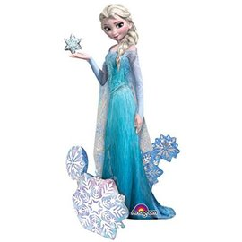 "Foil Balloon - Airwalker - Frozen Elsa the Snow Queen- 35""x57"""