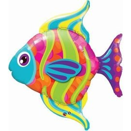 "Foil Balloon - Vibrant Fish - 43"""