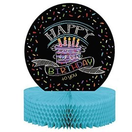 Centerpiece-Chalk Birthday Personalize-12''x9''