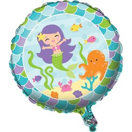 """Foil Balloon - Mermaid Friends - 18"""""""