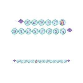 Banner-Mermaid Friends Shaped Ribbon-8ftx6in