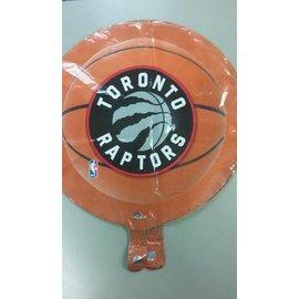 "Foil Balloon - Basketball - Raptors - 18"""