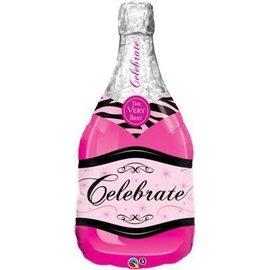 "Foil Balloon - Celebrate Bottle - 39"""