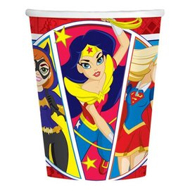 Paper Cups - DC Superhero Girls - 8pc