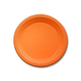 Plates LN-Orange Peel Plastic (20ct)
