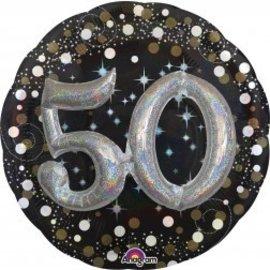 """Foil Balloon-50 3-D Effect 32"""""""