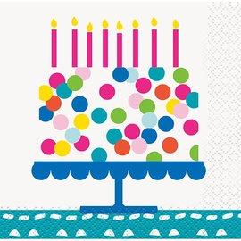 Napkins Bev - Confetti Cake Birthday