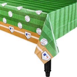 "Tablecover Plastic - Baseball 54x102"""