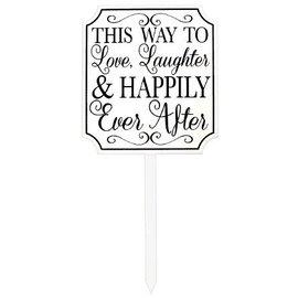 Lawn Sign-Wedding