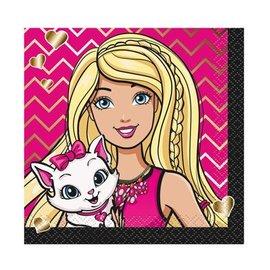 Napkins Bev - Barbie