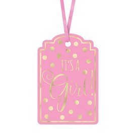 "Tags - ""It's a Girl""-2''x3''-25pk"