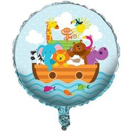 "Foil Balloon - Noah's Ark - 18"""