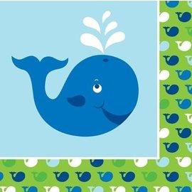 Luncheon Napkins - Ocean Preppy Boy- 16pk-3ply