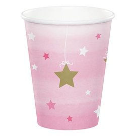 Cups - One Little Star Pink