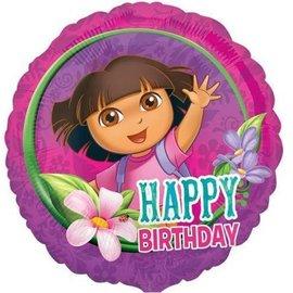 """Foil Balloon -Dora the Explorer - 17"""""""