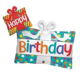 Foil Balloon - Happy Birthday Supershape