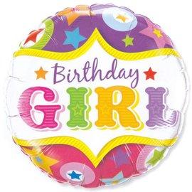 Foil Balloon - Birthday Girl