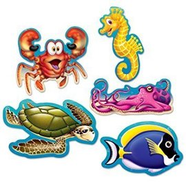 Cutouts - Mini Under The Sea-5in-10pk