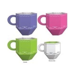 Alice In Wonderland - Tea Cup Favor Boxes-3.5''x4.75''