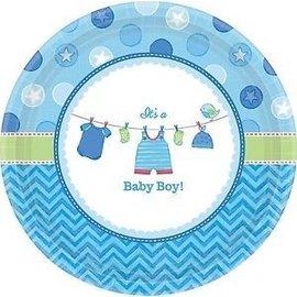 Plates Bev - It's a Boy