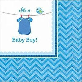 Napkins Bev - It's a Boy