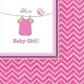 Napkin Bev - It's a Girl