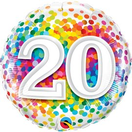 Foil Balloon - 20th