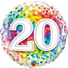 Foil Balloon - 20th
