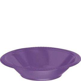 Bowl - Purple Plastic