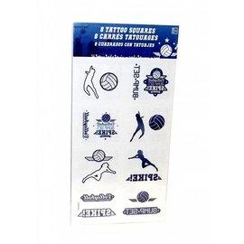 Tattoo - Volleyball - 16pc