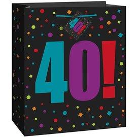 Gift Bag - Large - 40!-Paper